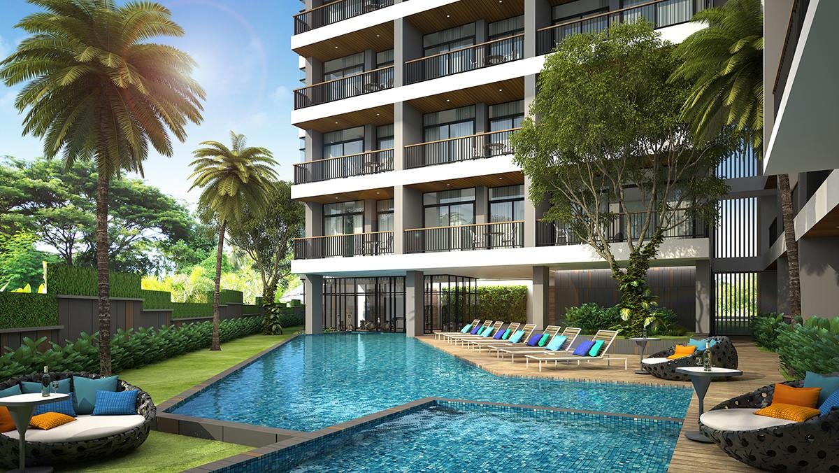 FREEHOLD Apartments For Sale modern-style – Kata beach