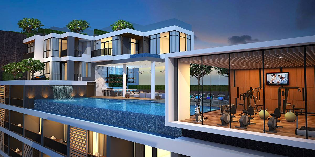 FREEHOLD New Apartments For Sale modern-style 2 Bed – Kata beach