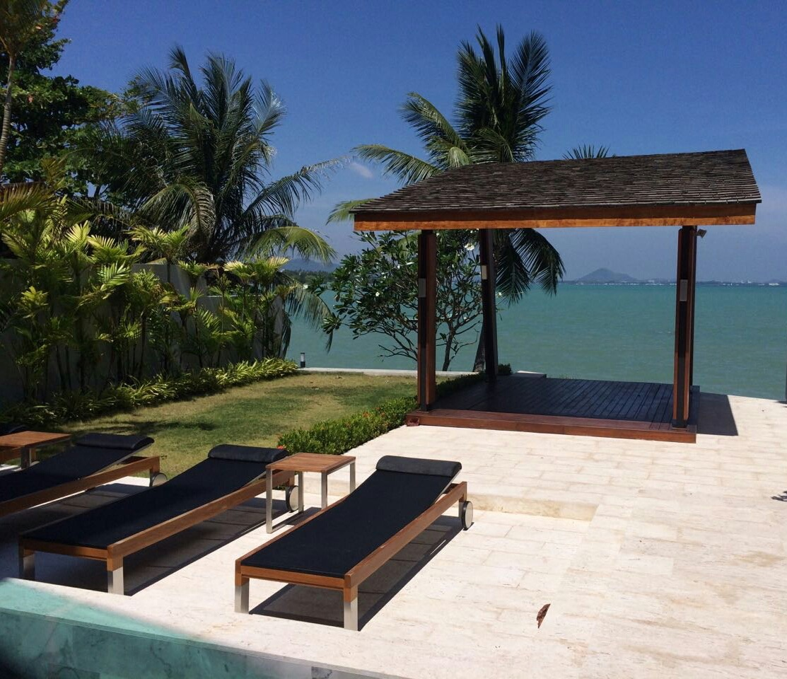 Modern Luxury Beach Front Villa Private Pool for sale - Rawai Phuket
