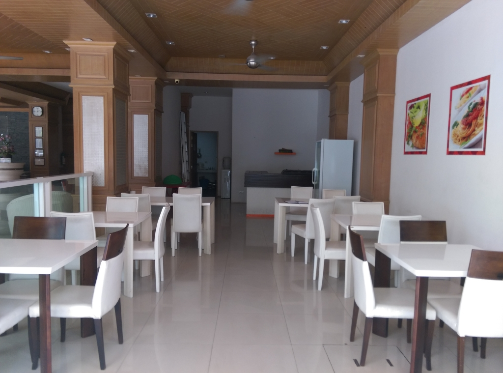 Restaurant for Lease in Popular Hotel – Patong beach