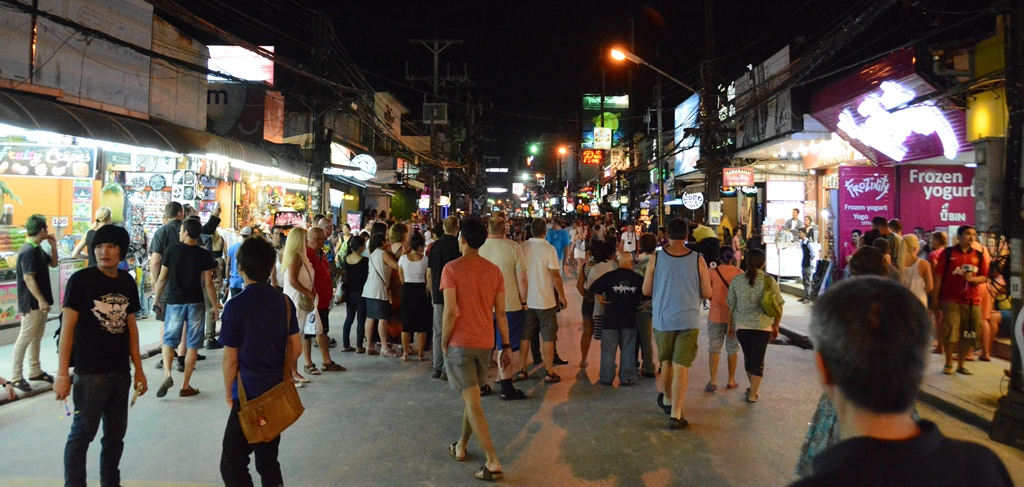 Restaurant for Lease - Bangla road Patong beach