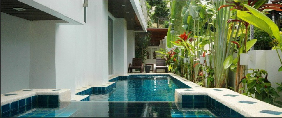 Fabulous Pool Villa with Sea View on Patong Bay