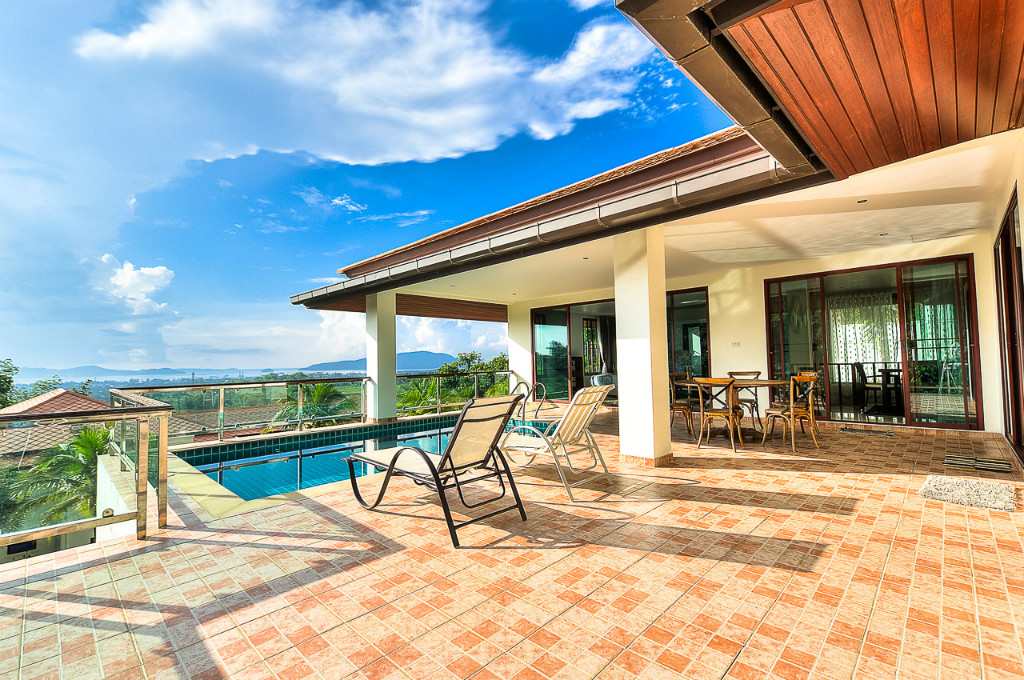 Chalong - 5-Bedroom Sea View Villa for Sale
