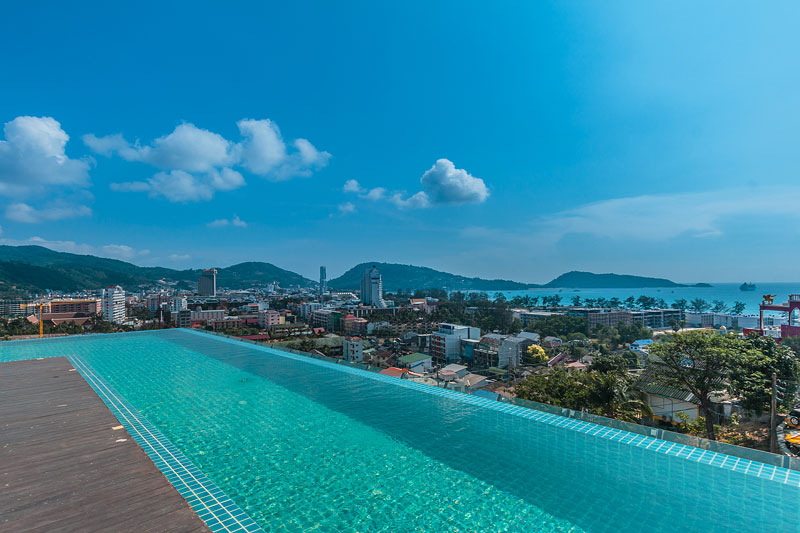 2 Beds Apartment for Rent sea view – Patong beach