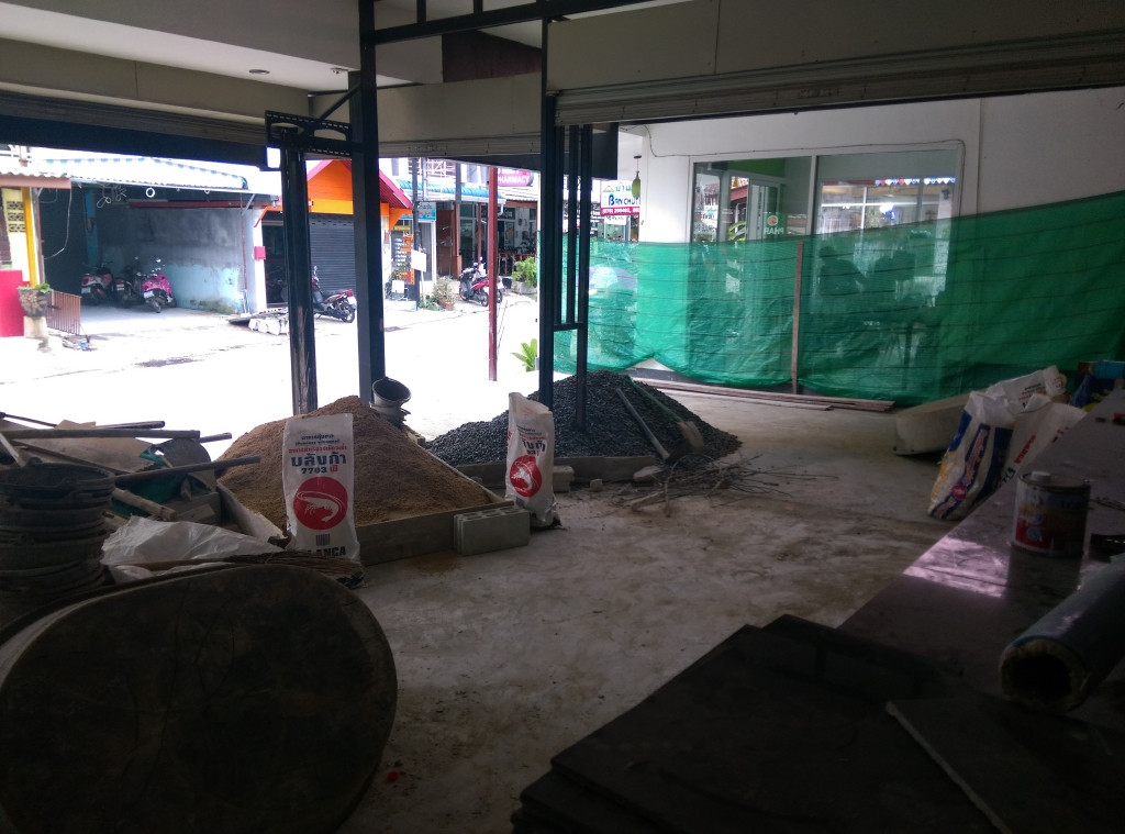 Bar – Restaurant – Space for Lease – Patong beach – NO KEY MONEY