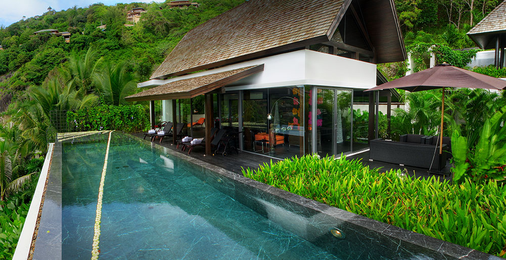 4 Bedrooms Private Pool Villa for Rent – Kamala beach