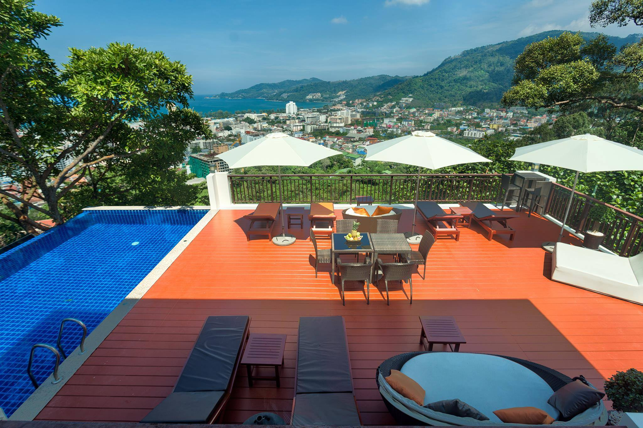 Sea View Private Pool Villa for Holiday Rent – Patong beach