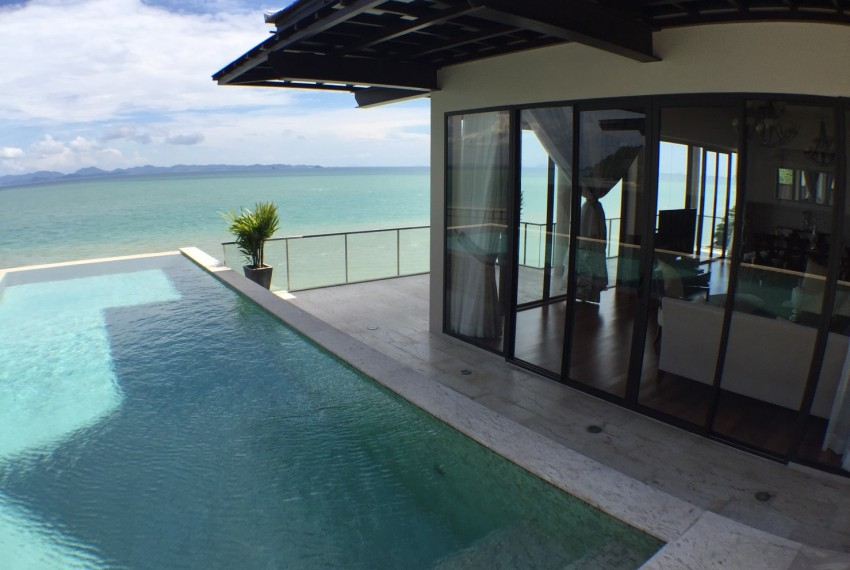 Beach Front Pool Villa for Sale - Koh Sireh