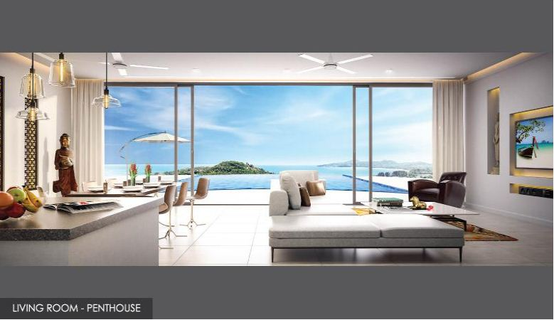 Sea View Luxury Penthouse for Sale – Surin beach